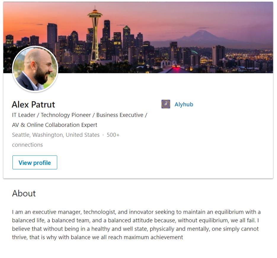 View Alex's profile
